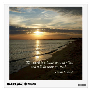 Psalm 119:105 Thy word is a lamp Room Graphics