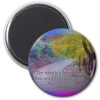 PSALM 119:105 THY WORD - LIGHT TO MY PATH - MAGNET