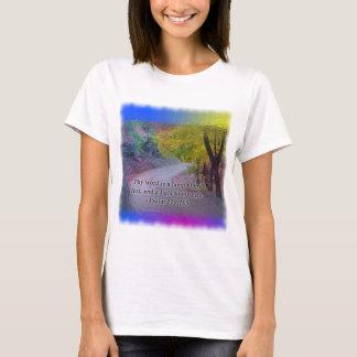 PSALM 119:105 THY WORD - LIGHT TO MY PATH - T-Shirt