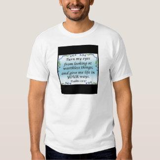 Psalm 119:37 tee shirt