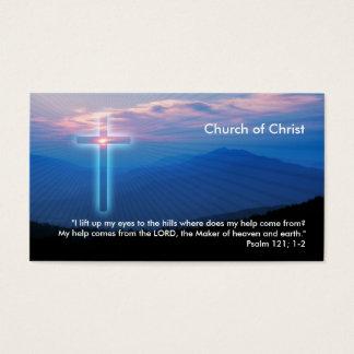Psalm 121; 1-2   Christian Business Card