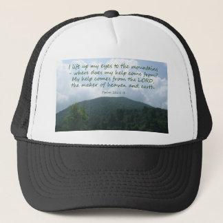 Psalm 121:1-2 trucker hat