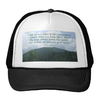 Psalm 121:1-2 trucker hats