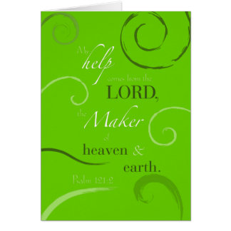 Psalm 121:2 greeting cards
