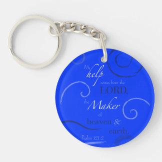 Psalm 121:2 acrylic keychains