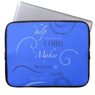 Psalm 121:2 laptop sleeve