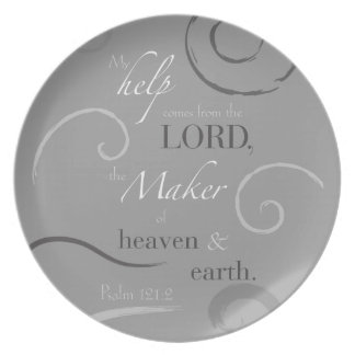 Psalm 121:2 plates