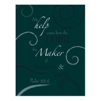 Psalm 121:2 postcards