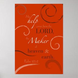 Psalm 121:2 print