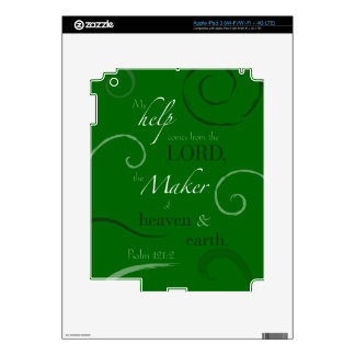 Psalm 121:2 decal for iPad 3