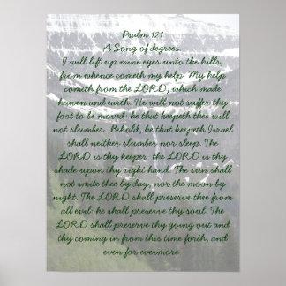 Psalm 121 Birdwoman Falls GNP Poster