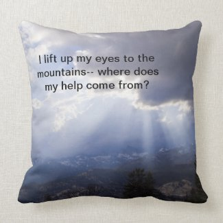 Psalm 121 pillows