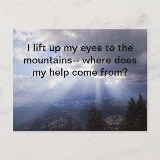Psalm 121 postcards