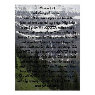 Psalm 121 posters