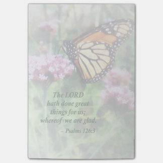 Psalm 126 3 The LORD hath done great things Post-it® Notes