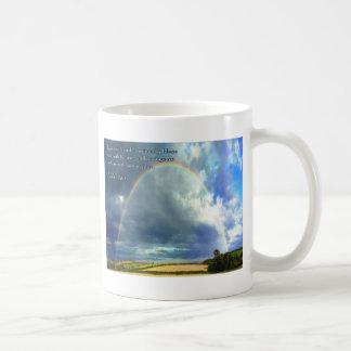Psalm 128:5 Full Rainbow Coffee Mug