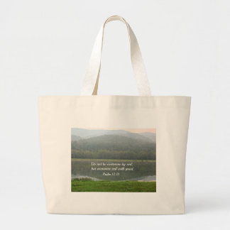 Psalm 12 21 canvas bags