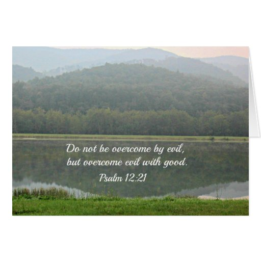 Psalm 12:21 greeting cards