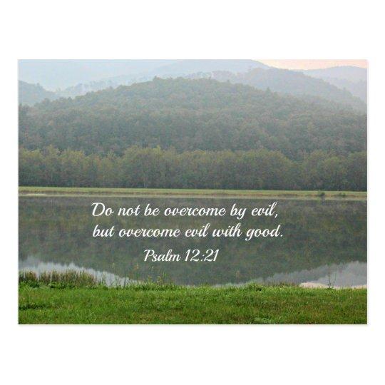 Psalm 12:21 postcard