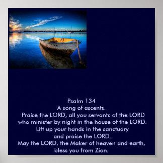 Psalm 134 print
