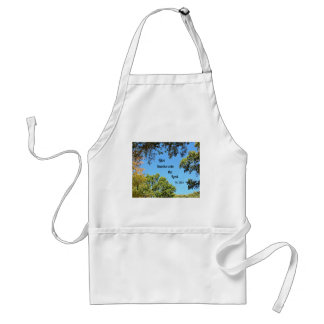 Psalm 136:1 Give thanks unto the Lord... Adult Apron