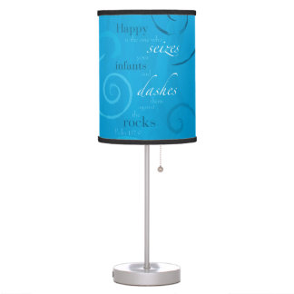 Psalm 137:9 table lamp