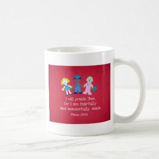 Psalm 139:14 coffee mug