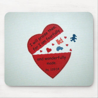 Psalm 139:14 mouse pads