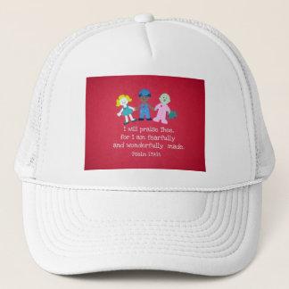 Psalm 139:14 trucker hat