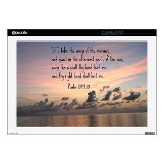 Psalm 139: 9,10 laptop decals