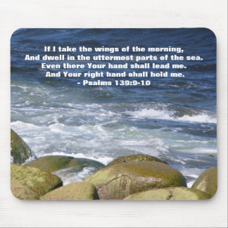 Psalm 139:9-10 mouse pad