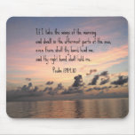 Psalm 139: 9,10 mousepad