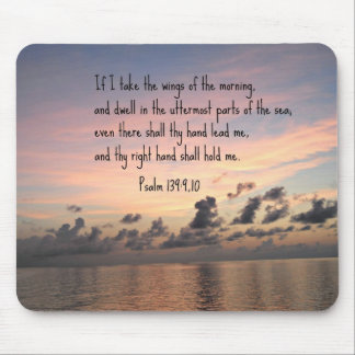 Psalm 139: 9,10 mouse pad