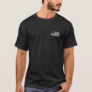 Psalm 144:1 AR shirt with American Flag on Front