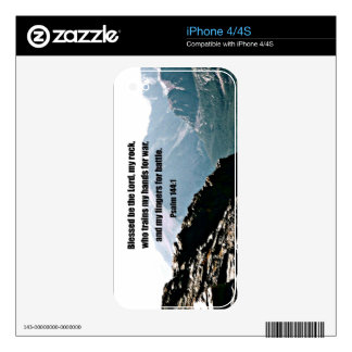 Psalm 144:1  Blessed  be the Lord... iPhone 4S Decal