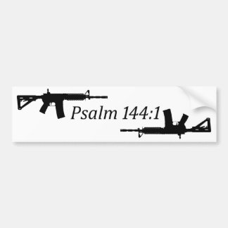 Psalm 144:1 Bumper Sticker