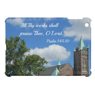 Psalm 145:10 All Thy works shall praise Thee iPad Mini Case