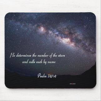 Psalm 147:4 DaÇade Art Mouse Pad