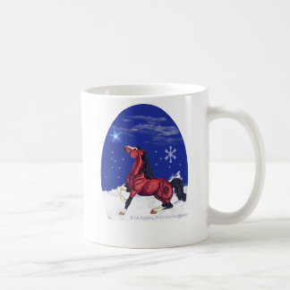 Psalm 147 Horse Coffee Mug