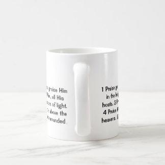 Psalm 148:1-5 coffee mug
