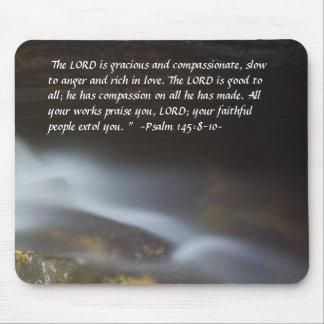 Psalm 148:8-10 Silky Water Mousepad