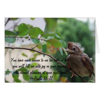 Psalm 16:11 notecards stationery note card