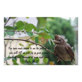 Psalm 16:11 Stationary Custom Stationery
