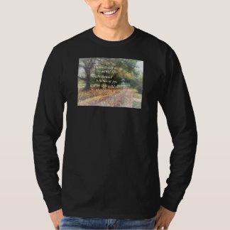 Psalm 16:11 Thou wilt shew me the path T-Shirt