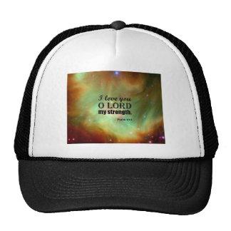Psalm 18:1 trucker hat