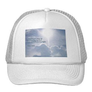 Psalm 18:28 Shining Clouds Trucker Hat