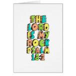 Psalm 18:2 greeting card