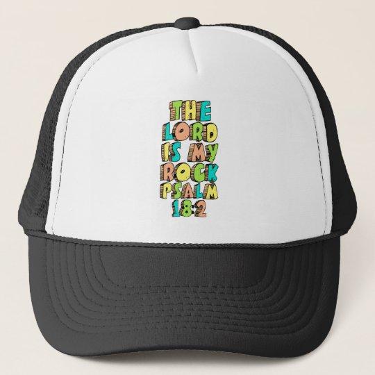 Psalm 18:2 trucker hat