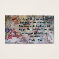 Psalm 18:2 Witness Card