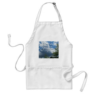 Psalm 19:1 The heavens declare the glory of God Adult Apron